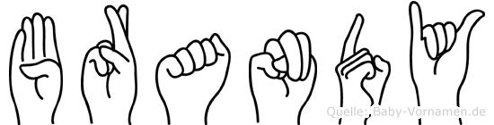 Brandy in Fingersprache für Gehörlose