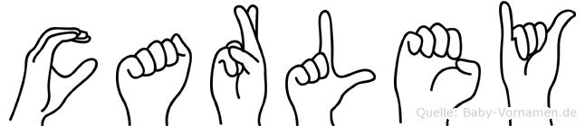 Carley in Fingersprache für Gehörlose