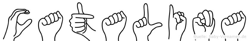 Catalina in Fingersprache für Gehörlose