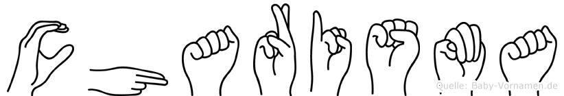 Charisma in Fingersprache für Gehörlose