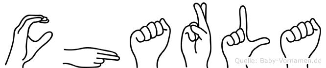 Charla in Fingersprache für Gehörlose
