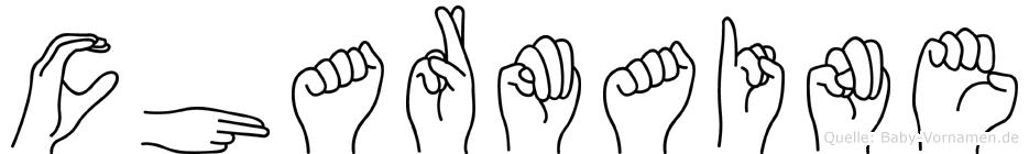 Charmaine in Fingersprache für Gehörlose