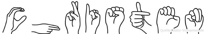 Christen in Fingersprache für Gehörlose