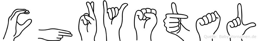 Chrystal in Fingersprache für Gehörlose