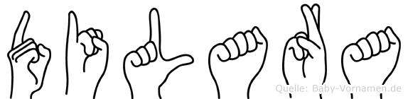 Dilara in Fingersprache für Gehörlose