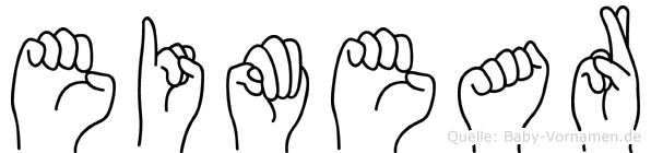 Eimear in Fingersprache für Gehörlose