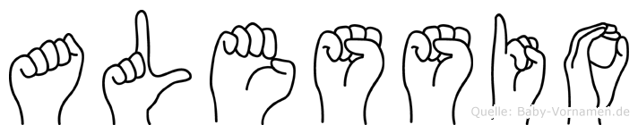 Alessio in Fingersprache für Gehörlose
