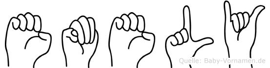 Emely in Fingersprache für Gehörlose