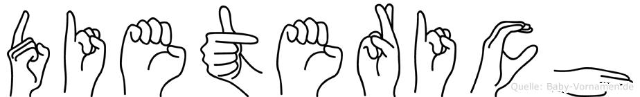 Dieterich in Fingersprache für Gehörlose