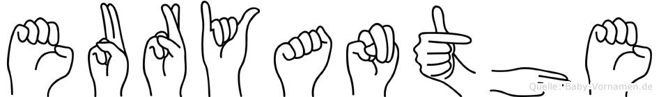 Euryanthe in Fingersprache für Gehörlose