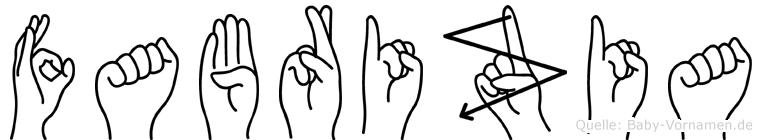 Fabrizia in Fingersprache für Gehörlose