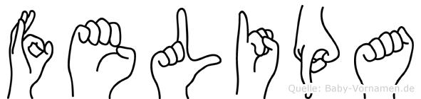 Felipa in Fingersprache für Gehörlose