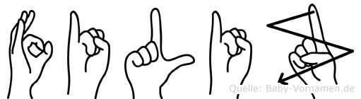 Filiz in Fingersprache für Gehörlose