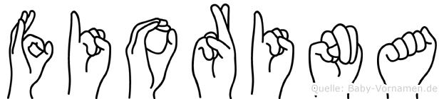 Fiorina im Fingeralphabet der Deutschen Gebärdensprache