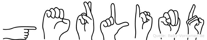 Gerlind in Fingersprache für Gehörlose