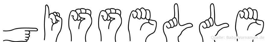 Gisselle in Fingersprache für Gehörlose