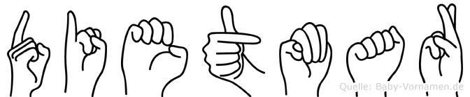 Dietmar in Fingersprache für Gehörlose