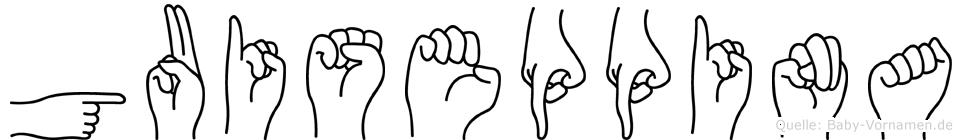 Guiseppina in Fingersprache für Gehörlose