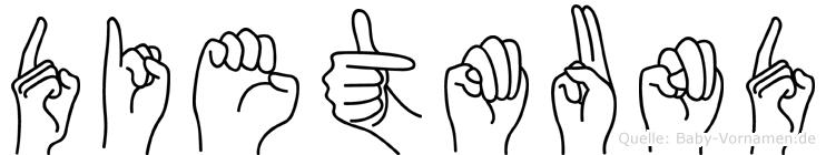 Dietmund in Fingersprache für Gehörlose