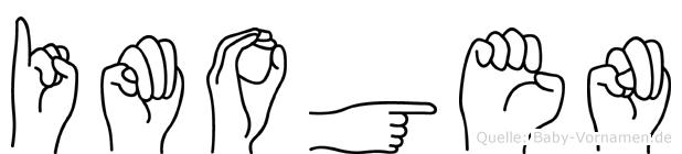 Imogen in Fingersprache für Gehörlose