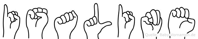 Isaline in Fingersprache für Gehörlose
