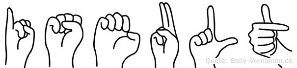Iseult in Fingersprache für Gehörlose