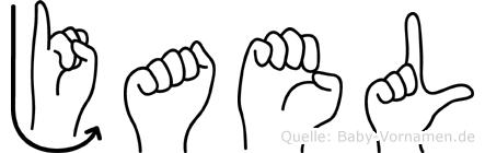 Jael in Fingersprache für Gehörlose