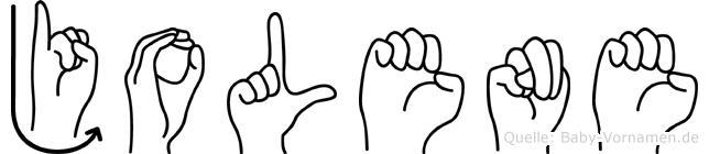 Jolene in Fingersprache für Gehörlose