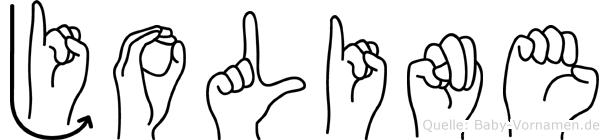 Joline in Fingersprache für Gehörlose