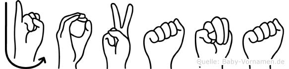 Jovana im Fingeralphabet der Deutschen Gebärdensprache