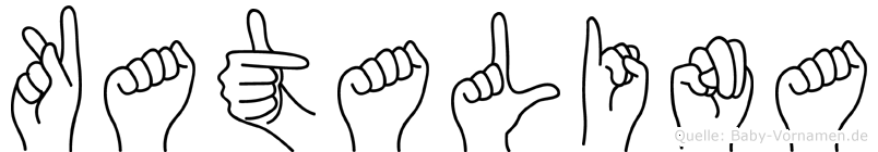 Katalina in Fingersprache für Gehörlose