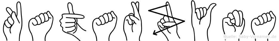Katarzyna in Fingersprache für Gehörlose