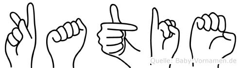 Katie in Fingersprache für Gehörlose