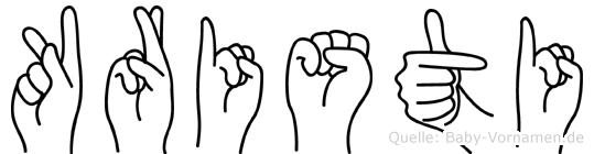 Kristi in Fingersprache für Gehörlose