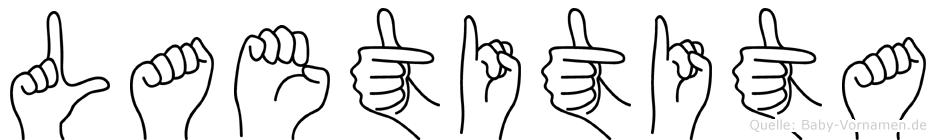 Laetitita in Fingersprache für Gehörlose