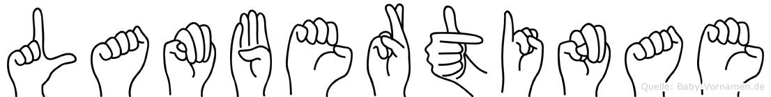 Lambertinae in Fingersprache für Gehörlose