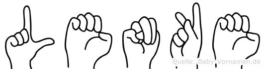 Lenke in Fingersprache für Gehörlose