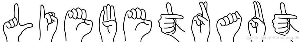 Liebetraut in Fingersprache für Gehörlose