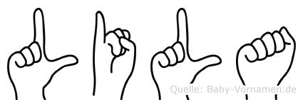 Lila in Fingersprache für Gehörlose