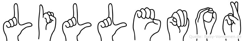 Lillemor in Fingersprache für Gehörlose