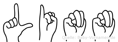 Linn in Fingersprache für Gehörlose