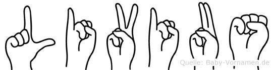 Livius in Fingersprache für Gehörlose