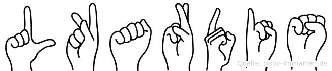 Lükardis in Fingersprache für Gehörlose