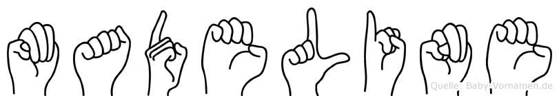 Madeline in Fingersprache für Gehörlose