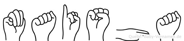 Maisha in Fingersprache für Gehörlose