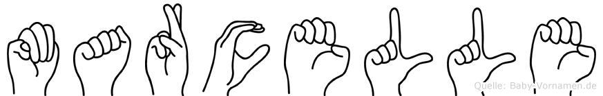 Marcelle in Fingersprache für Gehörlose