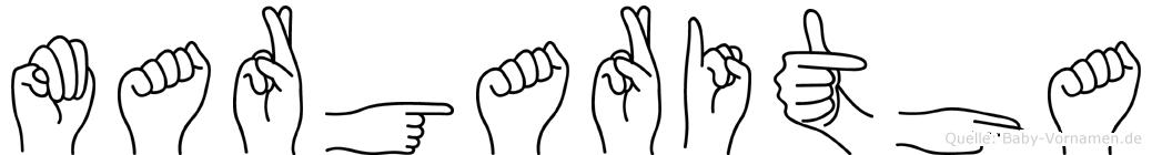 Margaritha in Fingersprache für Gehörlose