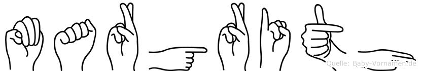 Margrith in Fingersprache für Gehörlose
