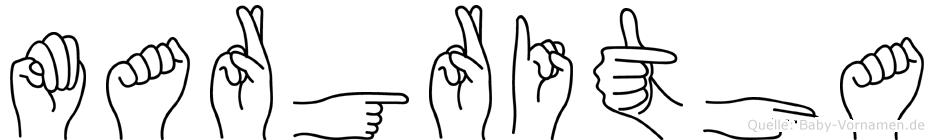 Margritha in Fingersprache für Gehörlose