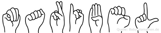 Maribel in Fingersprache für Gehörlose